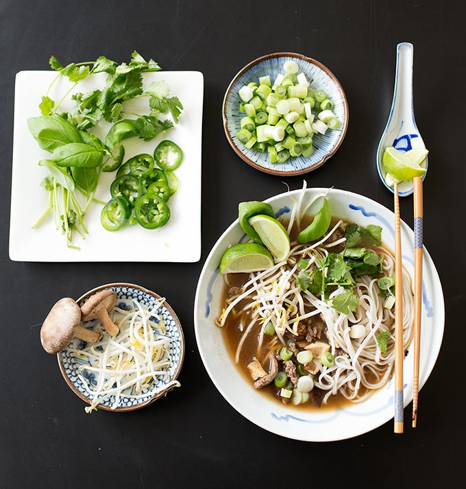 Easy Vietnamese Pho - Kiwi and Carrot